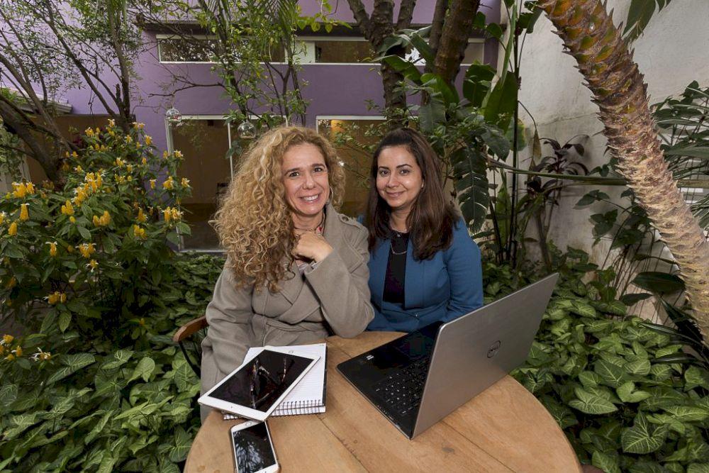 Juliana Rivero e Patricia Patricia Spagnuolo Casa do Sentir