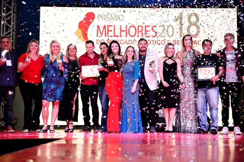 Foto Oficial Prêmio Melhores do Mercado Erótico