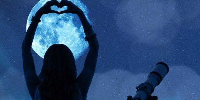 você e a lua