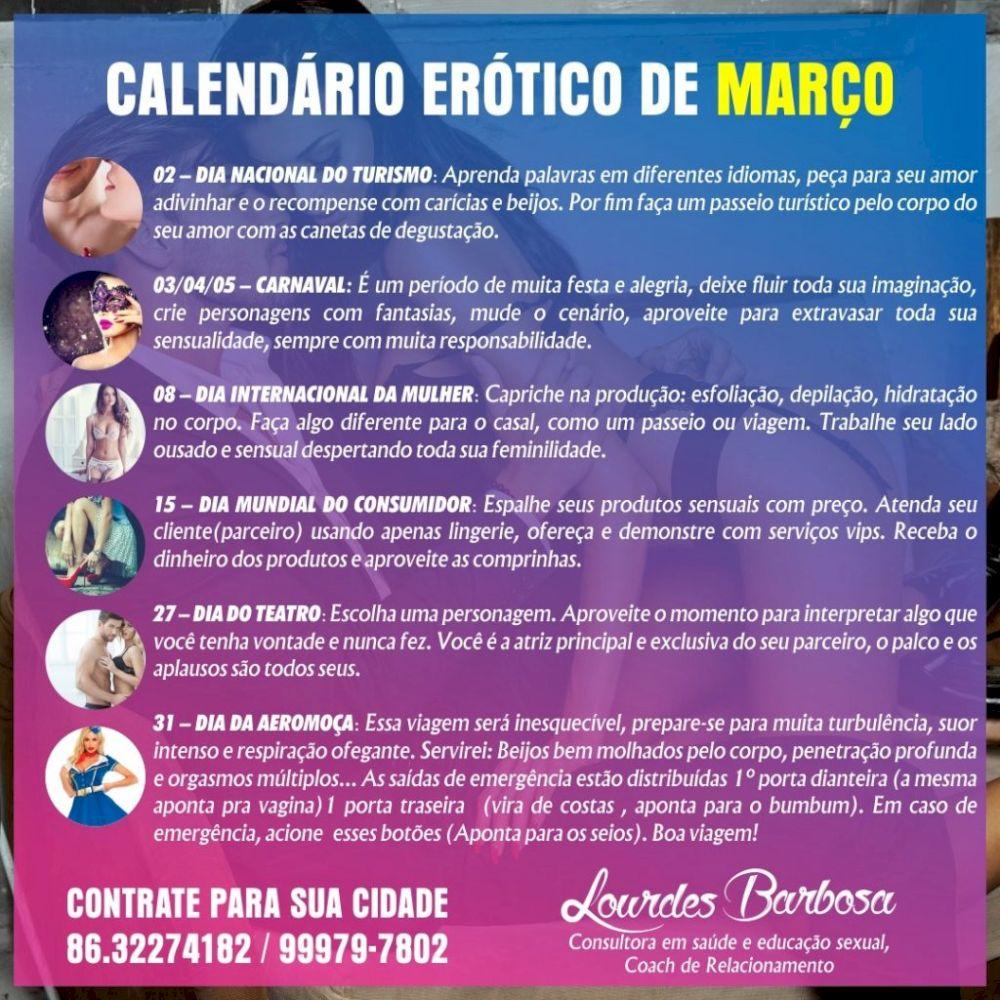 Calendário Erótico de Março