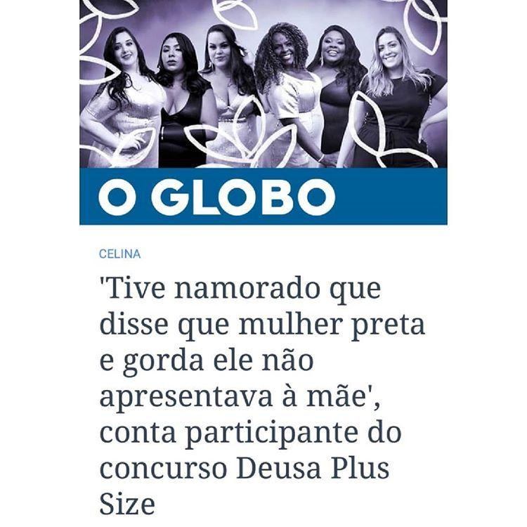 Deusa Plus Size no O Globo
