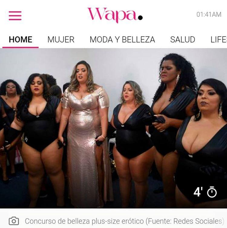Deusa Plus Size no Uruguai