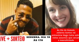 Live + Sorteio Dia do Homem Nego Catra