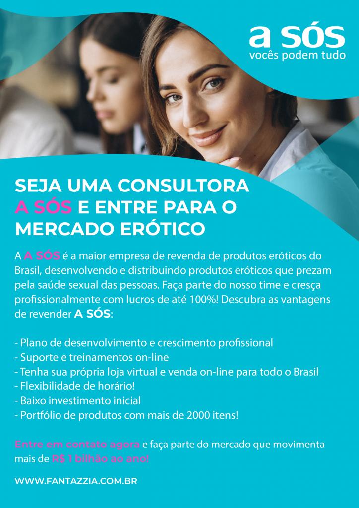 A4 - Seja Consultor A Sós - Líder Paul Araujo - Revista Mercado Erotico