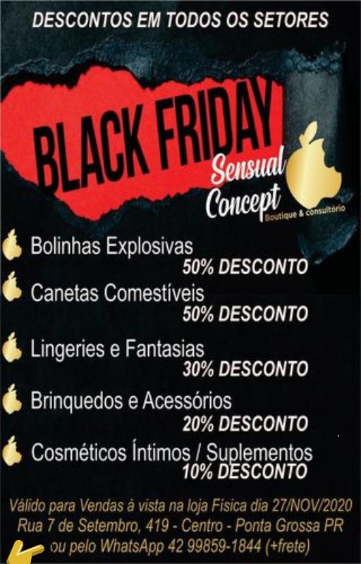 Black Friday Sensual Concept