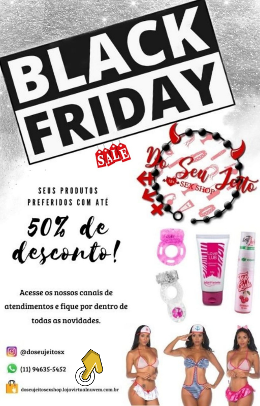 Black Friday Do Seu Jeito Sex Shop